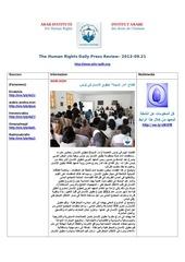 aihr iadh human rights press review 2013 09 21