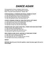 Fichier PDF dance again
