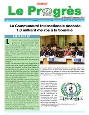 journal le progres n 333 du samedi 21 septembre 2013