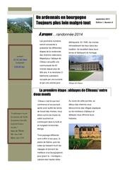 un ardennais en bourgogne journal mensuel septembre 2013