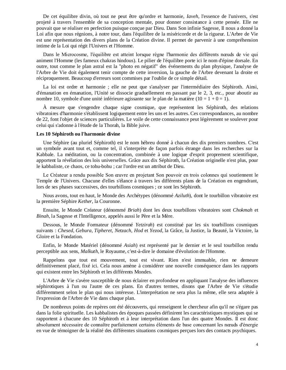 PDF TÉLÉCHARGER DE LA CLÉ KABBALE LA VÉRITABLE