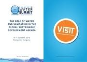 budapest water summit programme