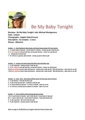 Fichier PDF be my baby