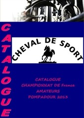 Fichier PDF catalogue championnat de france amateur pompadour 2013