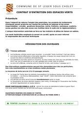 designation des ouvrages