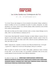 Fichier PDF communique presse arca
