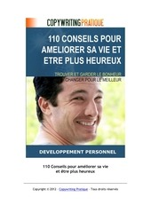 livre 110 conseils pour ameliorer sa vie