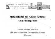 ph3 metabolisme des acides amines 2013 2014