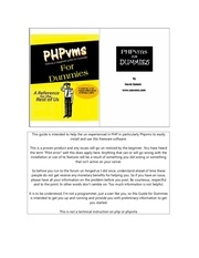 phpvms for dummies