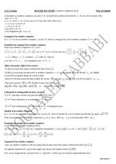 resume complexe 4e a