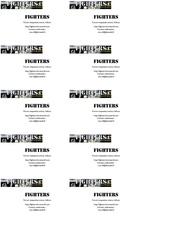 Fichier PDF carte visite forum