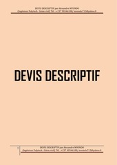 devis descriptif duplex