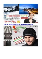 hot product bluetooth phone music winter cap