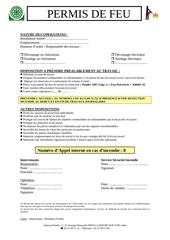 Fichier PDF permis feu 2012