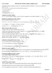 resume complexe 4e a 1