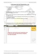 Fichier PDF utilisation du site tennis libre