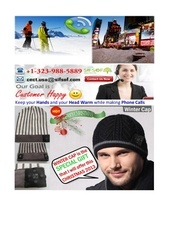 Fichier PDF hot product bluetooth phone music winter cap