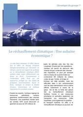td 10 changement climatique