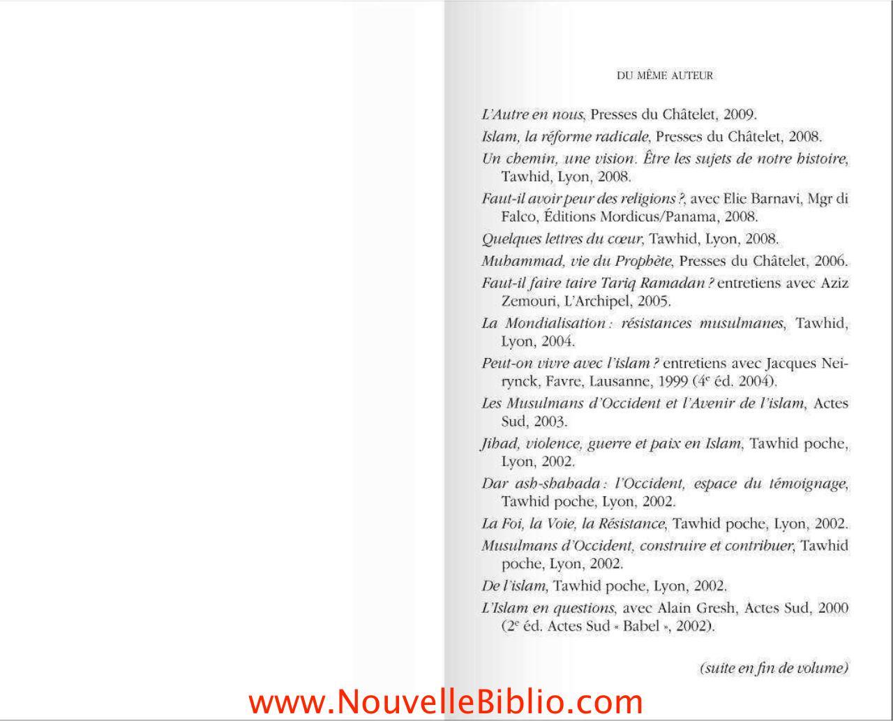 mon intime conviction tariq ramadan pdf
