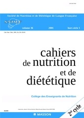 nutrition et dietetique