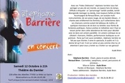 flyer concert stephane barriere 10 13