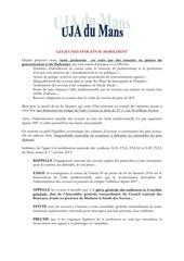 motion uja du mans du 1er octobre 2013