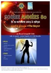 soiree 80 19oct2013