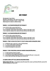 Fichier PDF my first