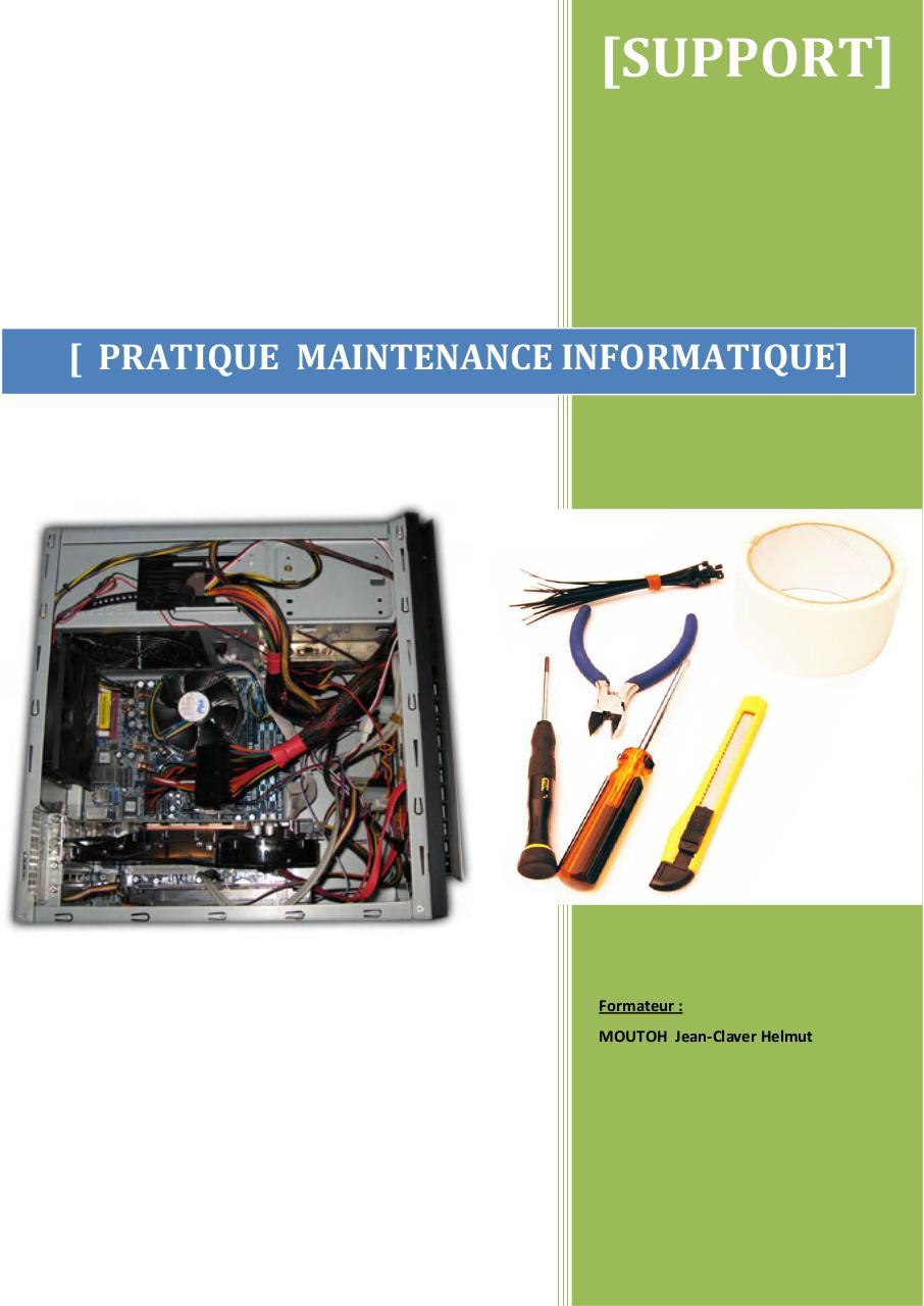 pc assemblage mise a niveau maintenance depannage avec cd rom