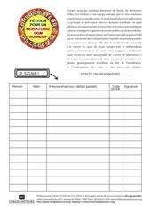 petition moratoire ogm 1