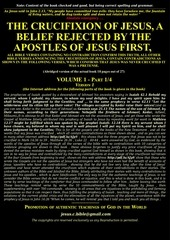 1 jjc jesus jamais crucifie en 18 pages anglais