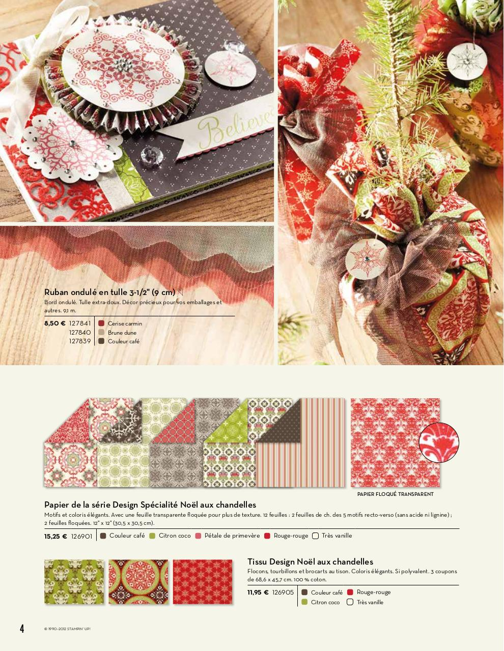 2011 automne hiver stampin'up.pdf - page 4/40