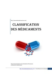 classification des medicaments