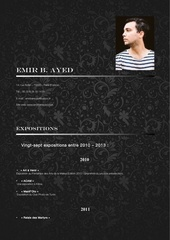 cv artistique emir ben ayed octobre 2013