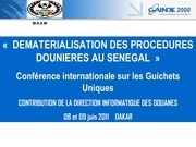 Fichier PDF dematerialisation des procedures douanieres au senegal