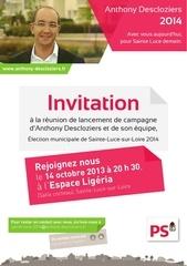 ad invitation lancement de campagne