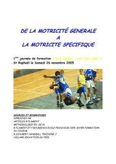 Fichier PDF expose motricite