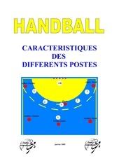 handball caracteristiques des postes