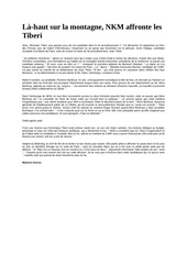 Fichier PDF la haut sur la montagne nkm affronte les tiberi