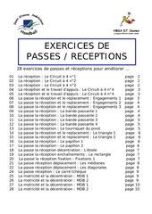 passes receptions