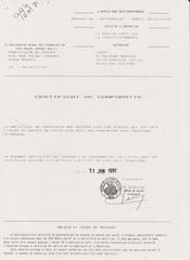 lebert certificat conformite
