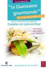 menus quinzaine gourmande 2013