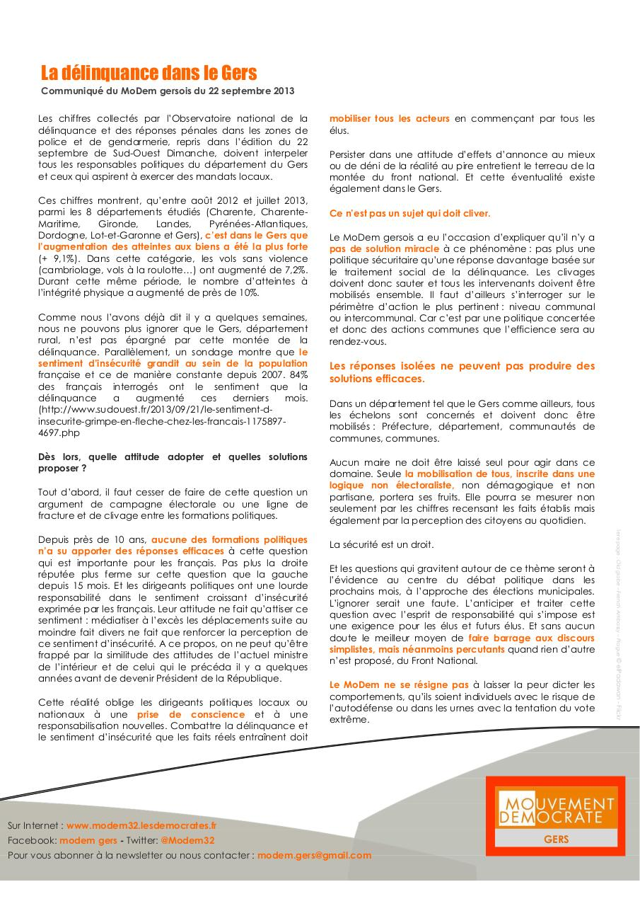 Aperçu du document Newsletter du MoDem N°5 - Oct 2013(1).pdf - page 5/5