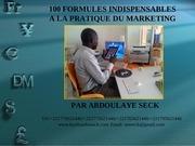 cours de laye bamba seck 100 formules marketing