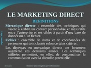 cours laye bamba seck le marketing direct