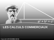 Fichier PDF cours laye bamba seck les calculs commerciaux