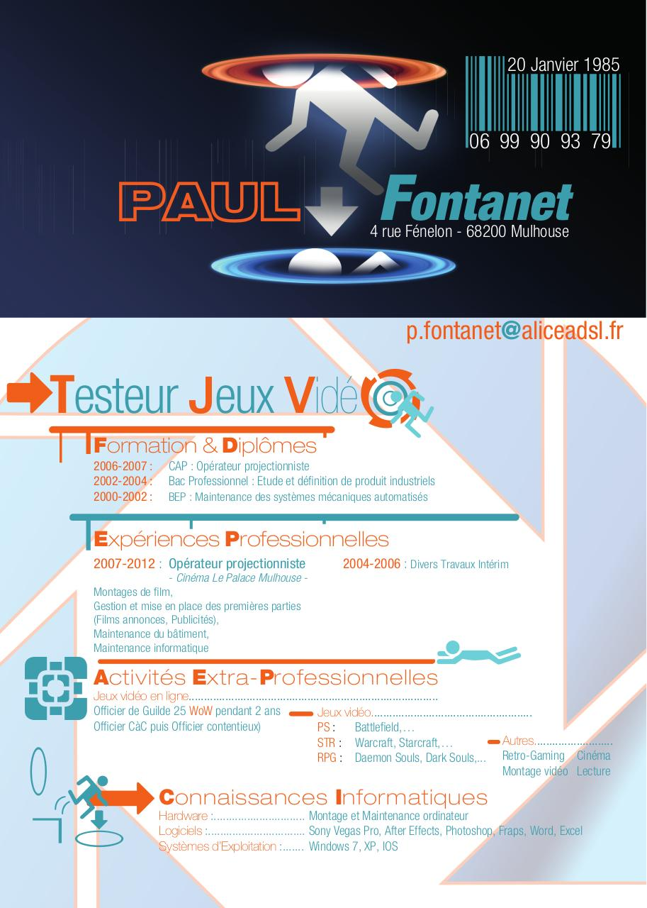 cv paul copie - cv paul pdf