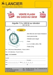 vente flash mail