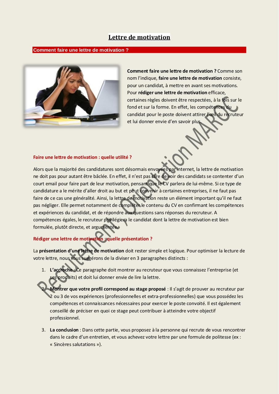 fichier pdf  lettre de motivation pdf par victor  2