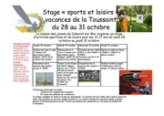 Fichier PDF stage sports et loisirs